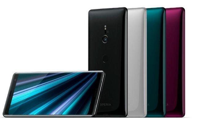 Флагман Sony Xperia XZ3 уже здесь: изогнутый OLED-дисплей и Android 9 Pie