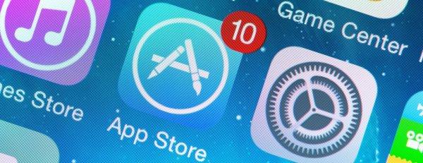 В работе сервиса AppStore произошел серьезный сбой