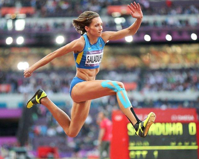 Ольга Саладуха победила на чемпионате Европы
