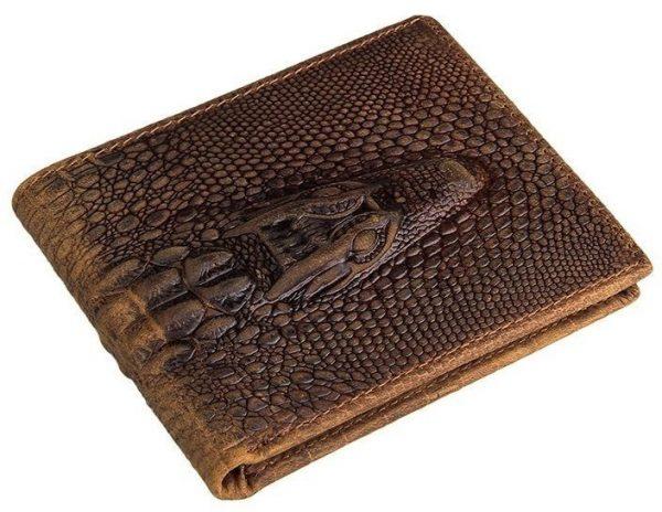 Кошельки из крокодила и кожи других экзотических животных